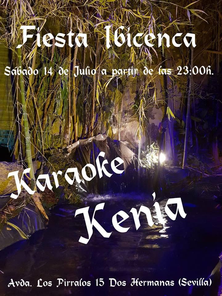Fiesta Ibicenca en Kenia Karaoke