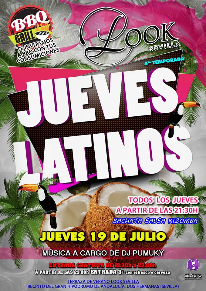 Jueves Latinos Look Sevilla BBQ