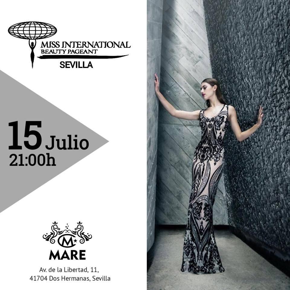 Miss International Beauty Pageant Sevilla en MARE Hotel