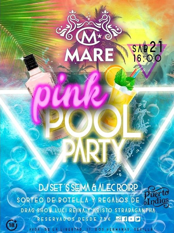 Pink Pool Party en MARE Hotel