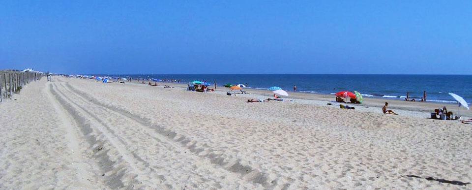 Playa de Punta Umbría en Huelva