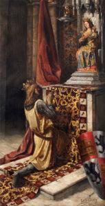 Romeria de Valme Fernando III en la reconquista de Sevilla
