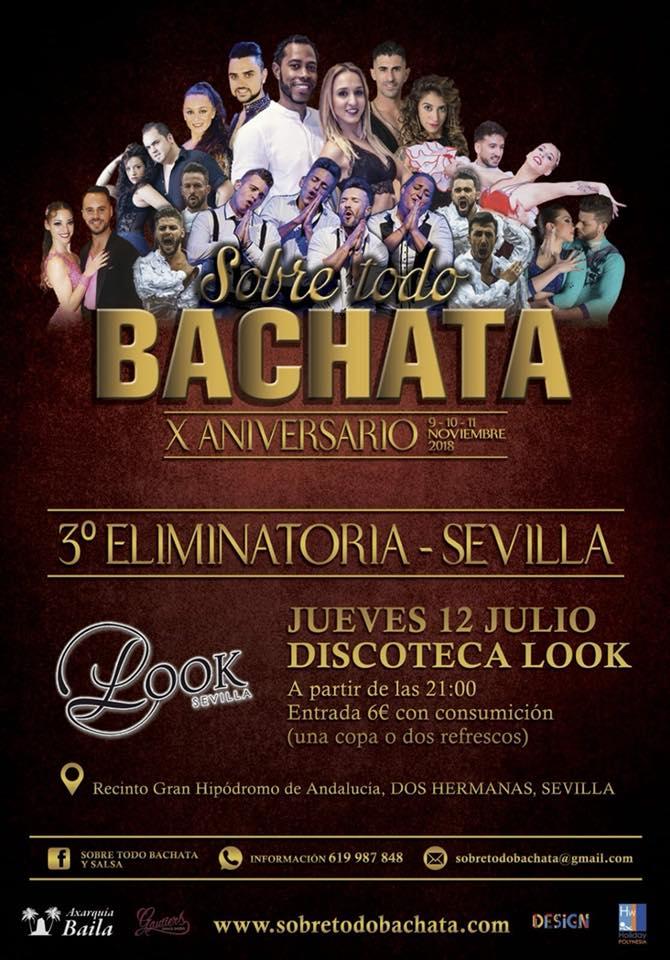 """Campeonato de Bachata """"Sobre todo bachata"""" en Look Sevilla"""