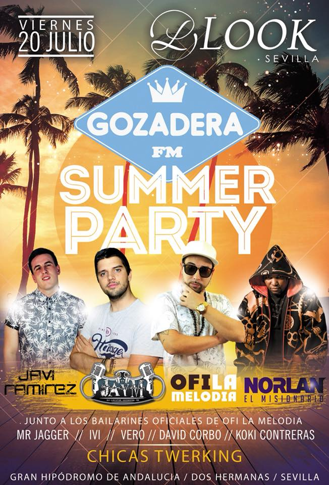 Summer Party Gozadera FM en Look Sevilla