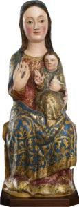 Talla gótica duplex Virgen de Valme (dos figuras)