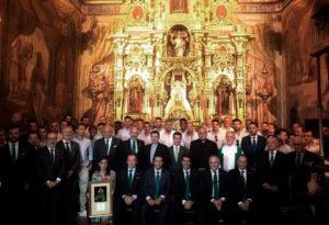 Vista de Real Betis Balompie a la Virgen de Valme año 2018