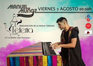 Concierto acústico de Manuel Muñoz en La Tetería de la Motilla