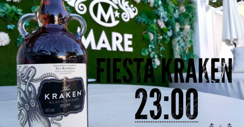 Photo of Fiesta Ron Negro Kraken en Mare
