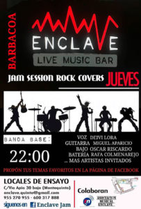 Jam Session Rock Covers en Sala Enclave