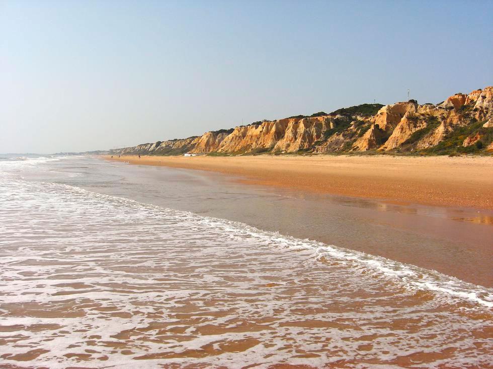 Playa de Mazagón en Palos de la Frontera (Huelva)
