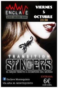 Concierto de Stingers con su tributo a Scorpions en Sala Enclave