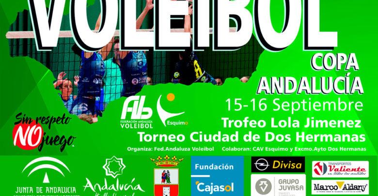 Photo of El Cajasol Juvasa Voley organiza la Copa de Andalucía