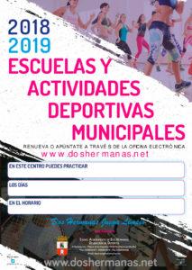 Escuelas y Actividades Deportivas Municipales en Dos Hermanas
