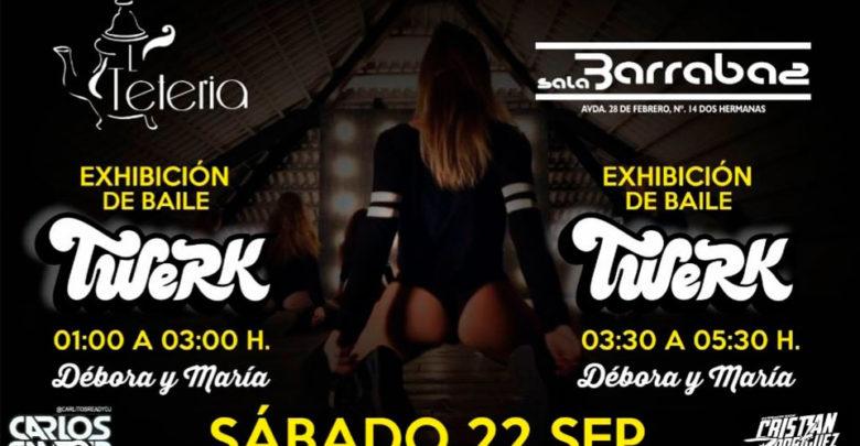 Exhibición de baile Twerk en la Tetería de la Motilla y Sala Barrabas