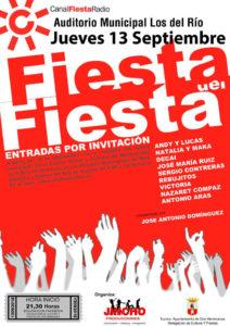 Fiesta del Fiesta en el Auditorio Municipal Los del Río 2018