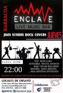 Jam Session Rock Covers en Sala Enclave 3
