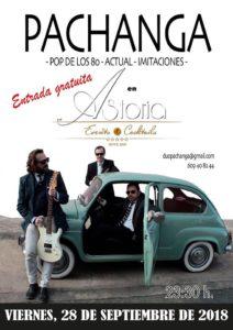 Concierto de Pachanga en Astoria Café