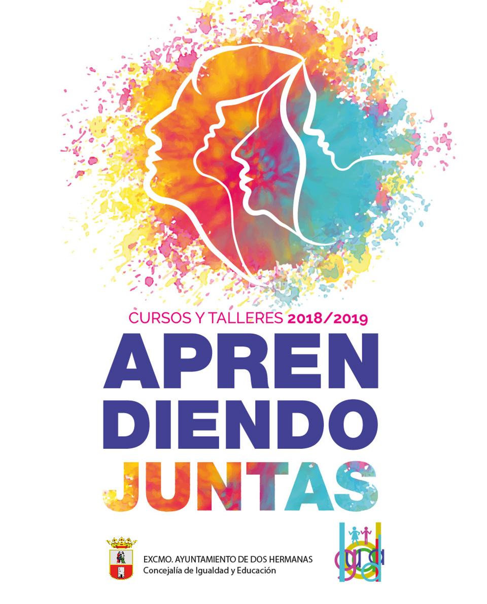"""Cursos y talleres 2018/2019 """"Aprendiendo Juntas"""""""