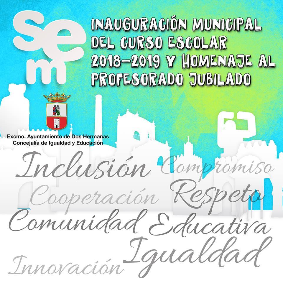 Acto de Inauguración Municipal del Curso Escolar 2018-19