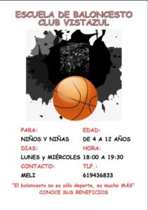 escuela de baloncesto cds club vistazul