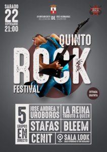 quinto rock festival en look sevilla 2018