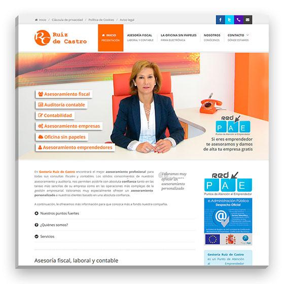 Sitio web Ruiz de Castro