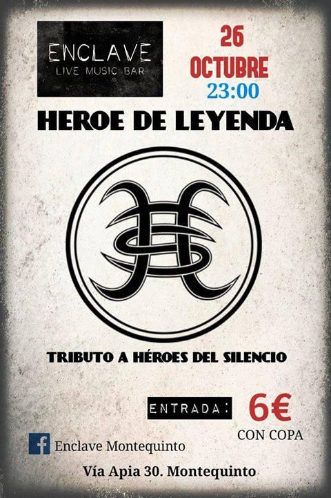 Héroe de Leyenda tributo a Héroes del Silencio