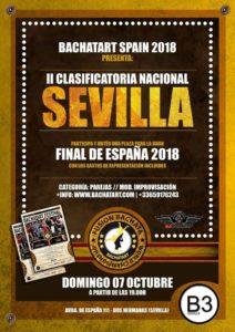 Campeonato Nacional Bachatart Spain 2018 en B3 Sevilla