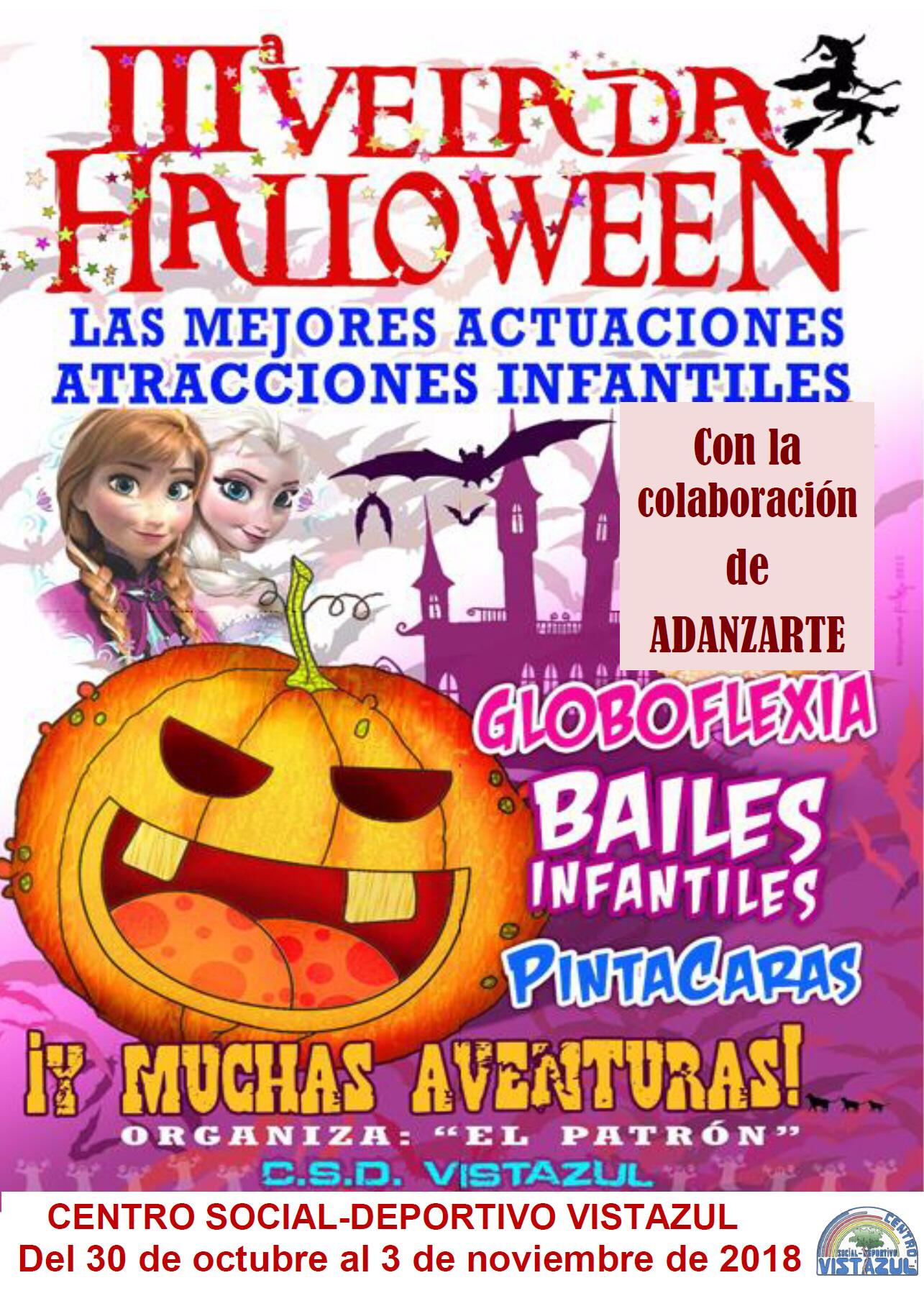 Halloween en CSD Vistazul en Dos Hermanas