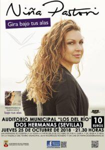 """Concierto de Niña Pastori en el Auditorio Municipal """"Los del Río"""""""