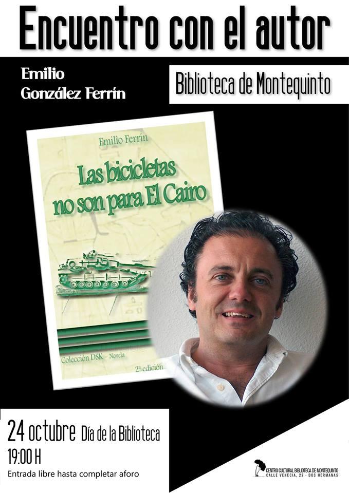 Encuentro con el escritor e islamólogo Emilio González Ferrín