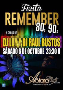 Fiesta Remember 80´s 90´s en Astoria Café