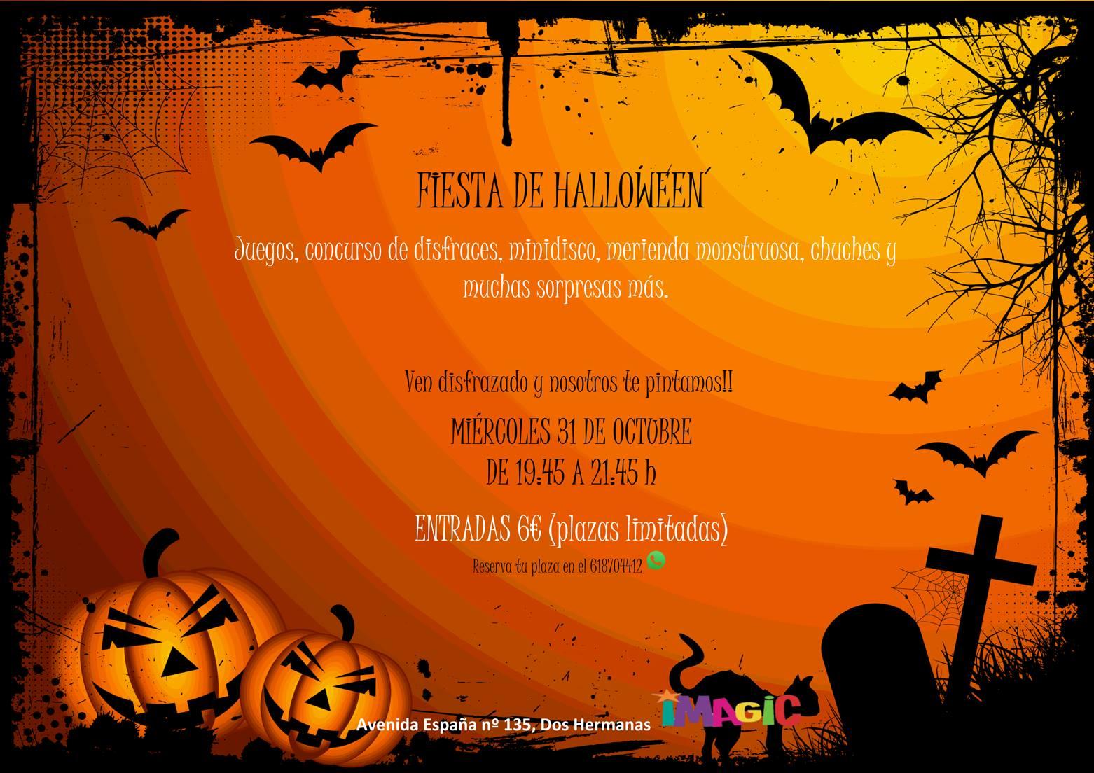 Fiesta de Halloween en Ludoteca Imagic
