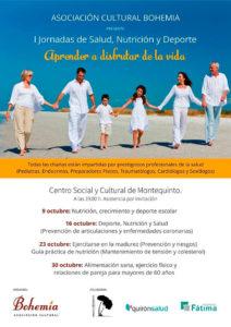 I Jornadas de Salud, Nutrición y Deporte 'Disfrutar de la vida' en la Biblioteca de Montequinto