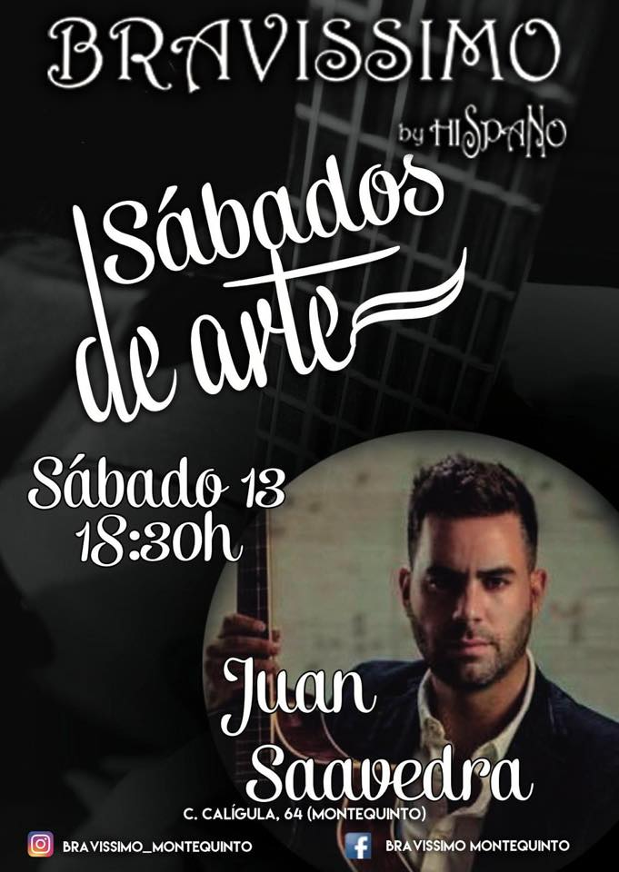 Juan Saavedra en Bravissimo by Hispano