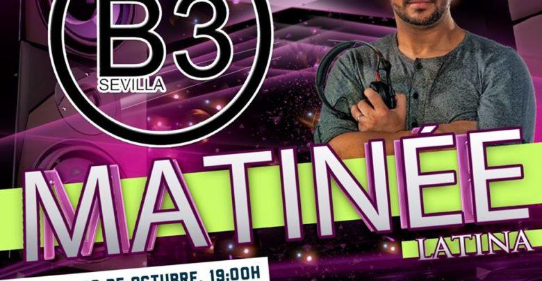B3 Sevilla presenta Matinée Latina con salsa, bachata y kizomba