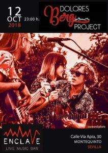 Concierto de Dolores Berg Project en Sala Enclave