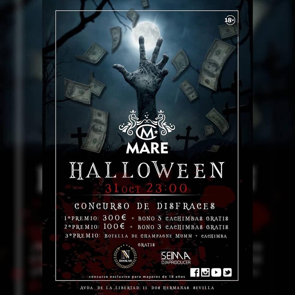 Fiesta de Halloween en Mare Hoteles 2018