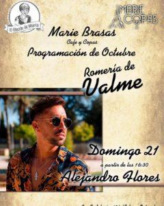 Alejandro Flores en Marie Copas el domingo de Valme