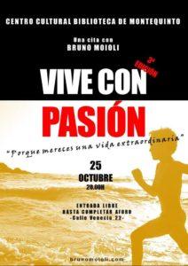 Conferencia Vive con Pasión: Ahora es el momento en la Biblioteca de Montequinto