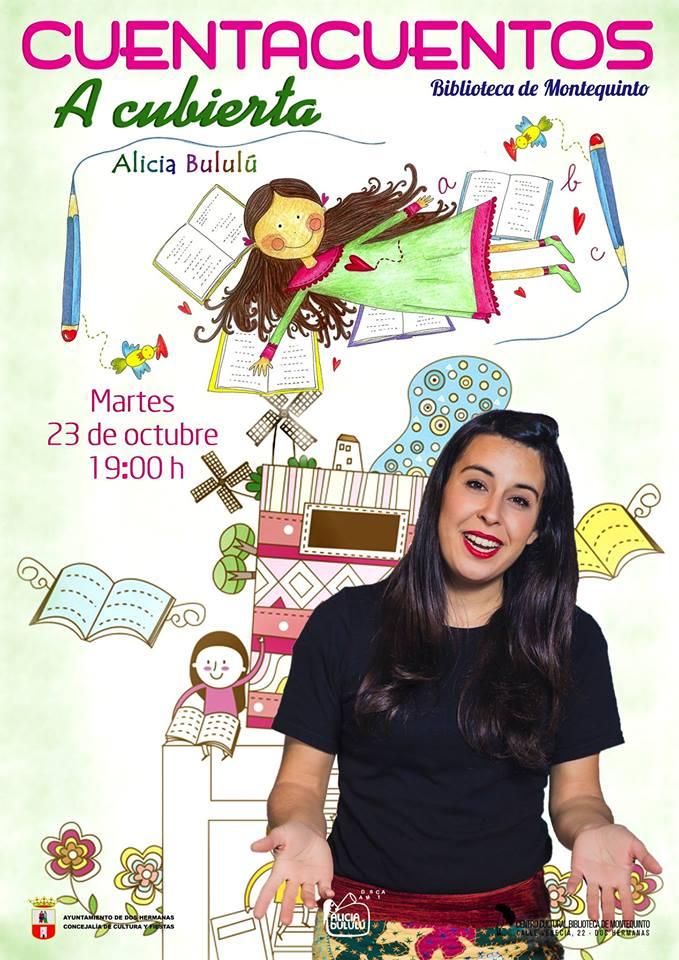 """Cuentacuentos """"A cubierta"""" por Alicia Bululú en la Biblioteca de Montequinto"""