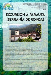 Excursión a Parauta (serranía de Ronda) organizada por el CSD Vistazul