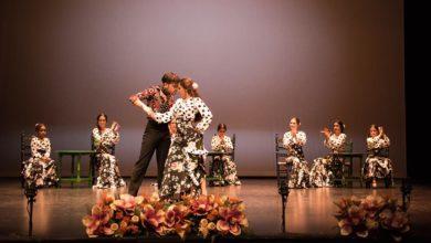 Ballet Rocío Gutiérrez en la Peña Cultural Flamenca Juan Talega