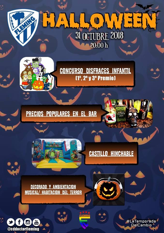 Halloween en CD Doctor Fleming 2018