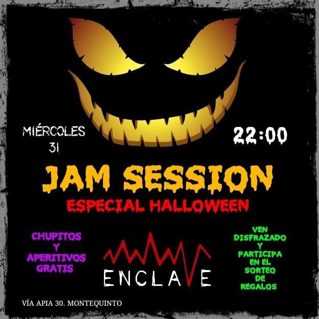 Halloween en Sala Enclave Jam Session en Montequinto