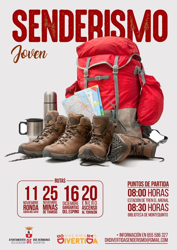 """IV Temporada del programa """"Senderismo Joven"""" 2018/2019"""