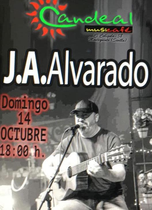 J. A. Alvarado en Candeal Musicafe