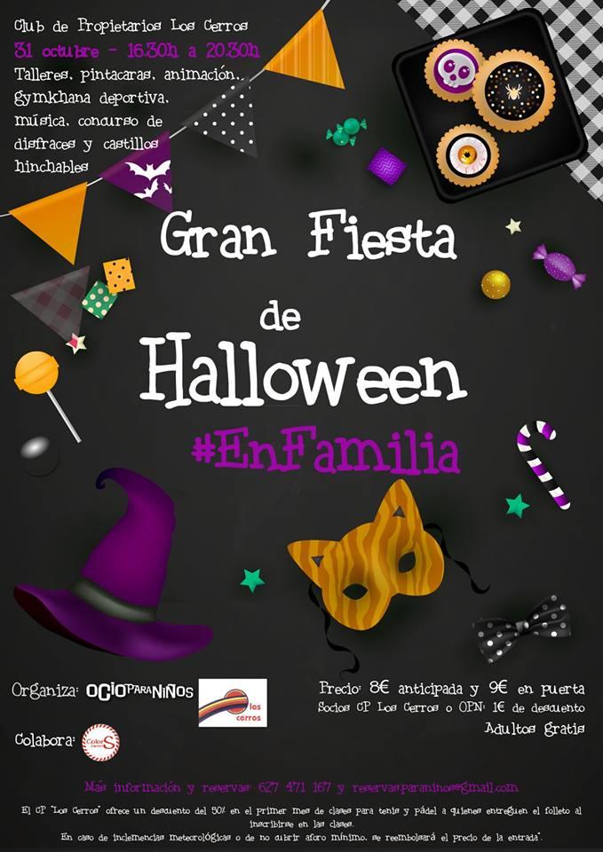 Halloween en Los Cerros de Montequinto en Dos Hermanas
