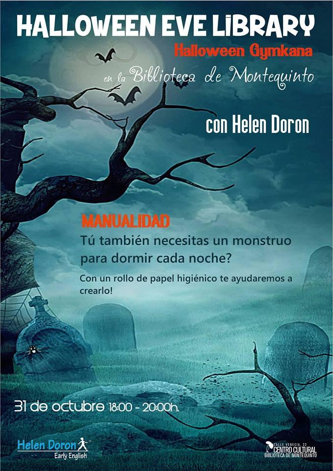 Halloween Gymkhana en la Biblioteca de Montequinto en Dos Hermanas