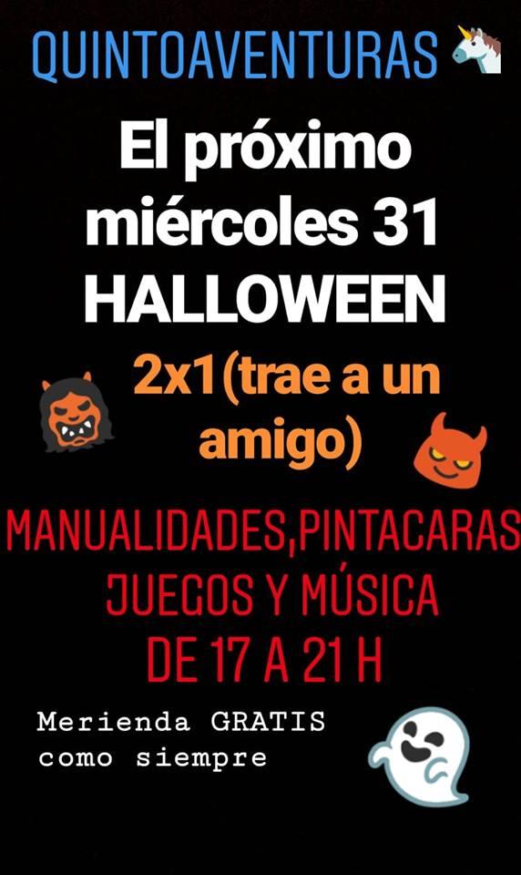 Halloween en Quintoaventuras de Montequinto en Dos Hermanas